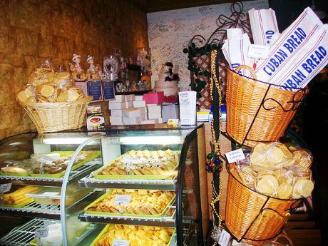 Enjoy the exquisitely delicious desserts and pastries from Cuba and Latin America at Flor de Cuba's Bakery!